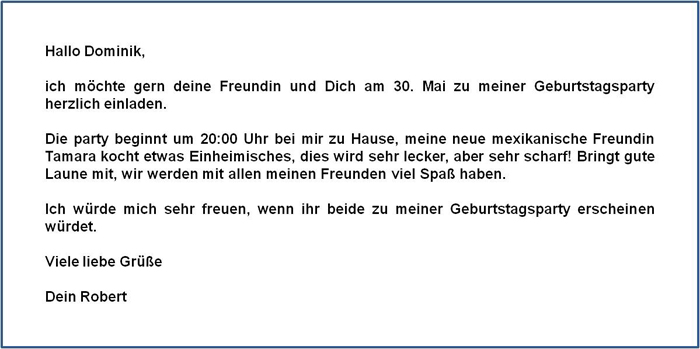 View topic einladung geburtstagsfeier birthday party invitation in english stopboris