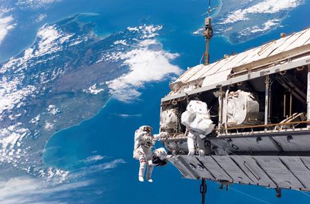 Space walking - NASA