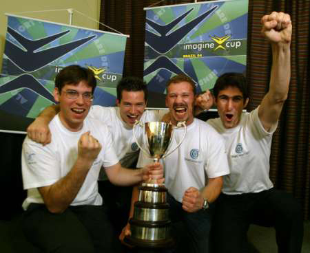 2004 Imagine Cup Victory.