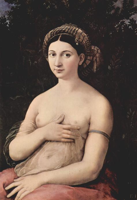 raffaello sanzio - portrait of a young woman