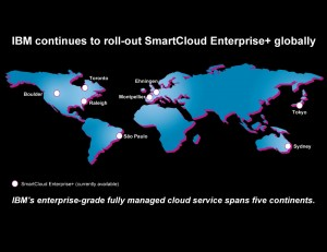 IBM SCE+ World Map. Image credit: IBM (Click image to enlarge)