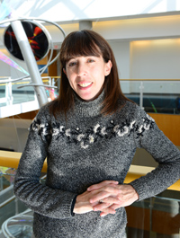 Cheryl Rosenfeld, associate professor of biomedical sciences in the University of Missouri's Bond Life Sciences Center. A series of experiments by Rosenfeld studied the effects of prenatal exposure to bisphenol A (BPA) on later reproductive-associated behaviors using a socially and genetically monogamous rodent, the California mouse, which may better mirror most human societies than other rodents. Image credit: University of Missouri