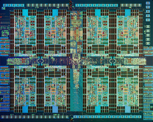 POWER7+ Chip. Caption: Closeup of IBM's POWER7+ processor, manufactured at the company's 300mm chip fab in East Fishkill, N.Y. The new microprocessor is featured in IBM's new entry-level Power Systems aimed at small-business users. (Image credit: IBM)