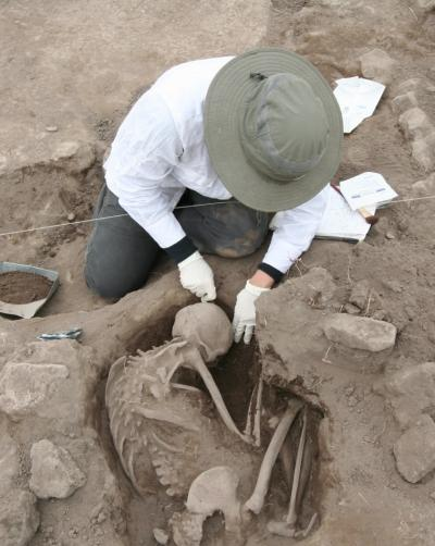 This is an image from the archeological dig in Mexico. Image Credit: Lisa Overholtzer, Wichita State University
