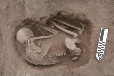 This is an image from Xaltocan dig site. Image Credit: Lisa Overholtzer, Wichita State University