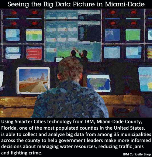 Seeing the Big Data Picture in Miami-Dade. Image credit: IBM