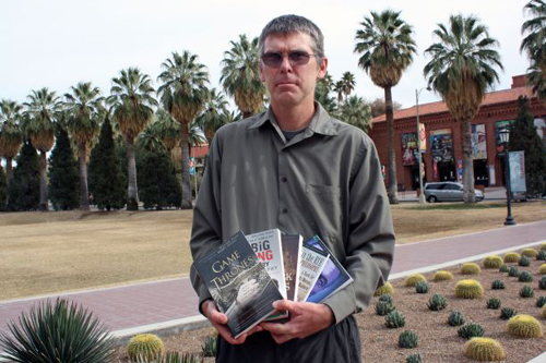 """About UA researcher Don Fallis, UA philosophy professor Terry Horgan said: """"Don's work is of cutting-edge importance as society seeks to adapt to new information-technologies while also avoiding the problems and perils that arise from misinformation."""" (Photo credit: Beatriz Verdugo/UANews)"""