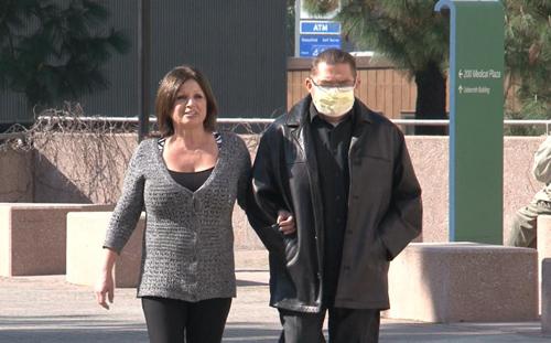 Fernando Padilla and his wife. (Image courtesy of UCLA)