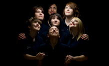 Members of Perfectly Mixed Up theatre company. Image credit: University of Exeter
