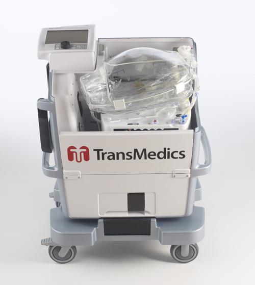 TransMedics' 'breathing lung' organ care system. (Image courtesy of UCLA)
