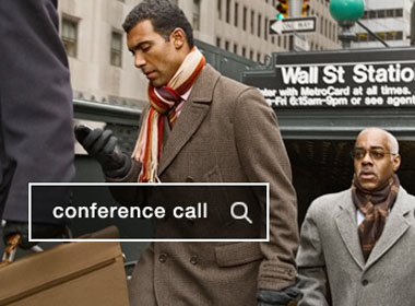Conference Call. A drag-and drop-interface lets the customer prioritize and target results by context, time, keyword, location or any way they need. Image credit: Microsoft