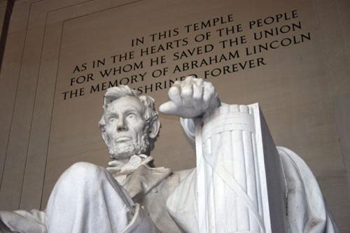 The Lincoln Memorial in Washington, D.C. (Photo by Margan Zajdowicz)