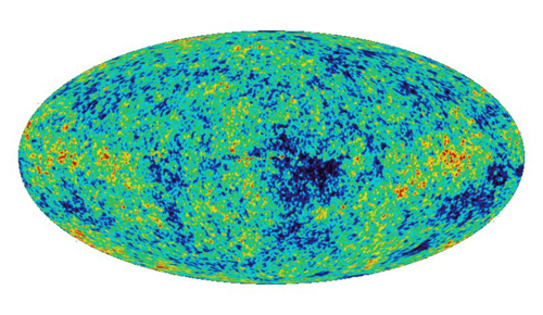 The Planck satellite mission mapped light temperature differences on the oldest surface known — the background sky left billions of years ago when our universe first became transparent to light. Those differences helped to recreate the sound of the Big Bang. Image credit: European Space Agency/Planck Collaboration