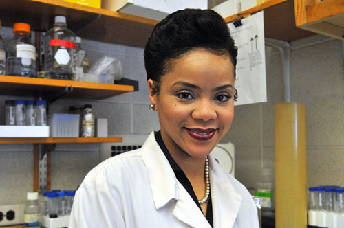 One elusive honor. She was valedictorian, Gates Millennium Scholar, UNCF/Merck Fellow, and more, but a research paper in a peer-reviewed journal was still a dream for Angel Byrd. That changed with last month's Journal of Immunology. Image credit: Photo by Frank Mullin/Brown University