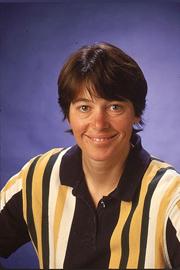 Carla Koehler, professor of chemistry and biochemistry. Image courtesy of UCLA