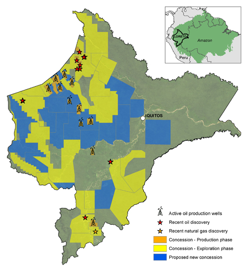 A study presents a new framework for oil and gas development in the Amazon. Image credit: North Carolina State University