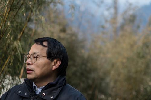 Jack Liu has had pandas on his mind for many years. Photo by Kurt Stepnitz