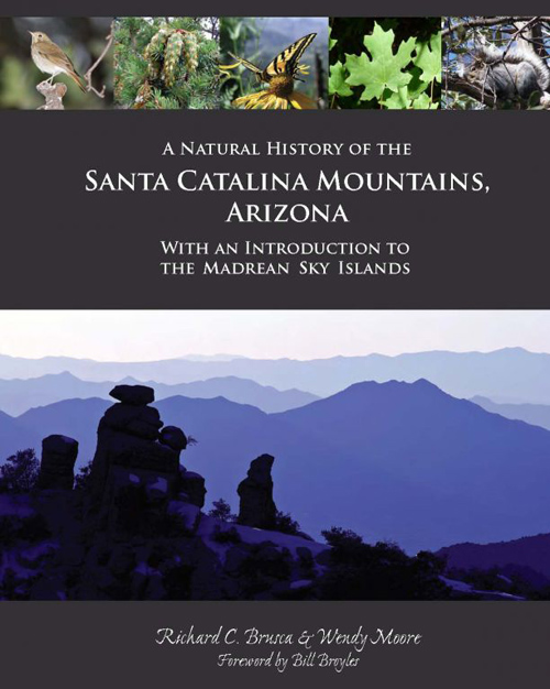 """Doubling as a coffee table book and a field guide, """"A Natural History of the Santa Catalina Mountains, Arizona"""" offers an easy-to-read and richly illustrated introduction to the natural history of the sky islands. Image credit: University of Arizona"""