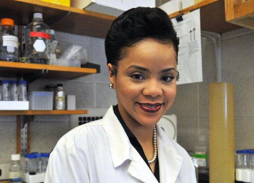 Angel Byrd: 'My experience at Lilly has demonstrated to me the power and resources of industry and has sparked an interest in bridging academic medicine and industry collaborations'.