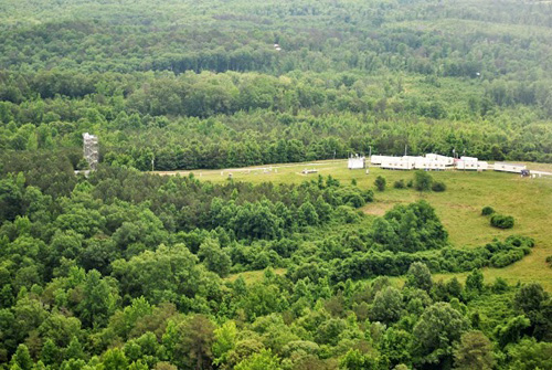 Southeast Atmosphere Study tower in Alabama's Talladega National Forest. Image credit: Southeast Atmosphere Study