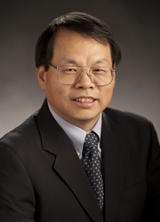 """Jianguo """"Jack"""" Liu, the Rachel Carson Chair in Sustainability and director of MSU's Center for Systems Integration and Sustainability. Image courtesy of MSU."""