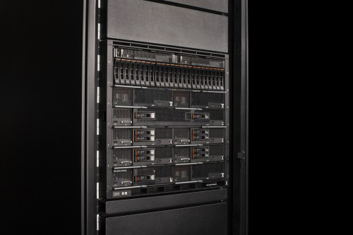 New IBM Flex System products allow clients to build larger clouds with smaller data centers (Image credit: IBM)