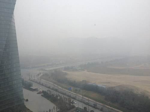 China, with its enormous cities and vast countryside, is a potential star in the ongoing global drama of slashing carbon emissions. Image courtesy of MSU.