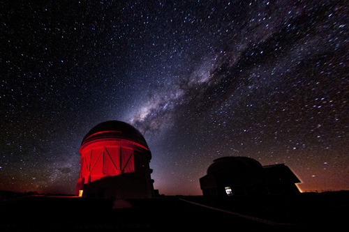 Dark Energy Survey, Dark Energy Camera, DES, DECAM, Cerro Tololo Observatory, Chile. Image credit: Reidar Hahn