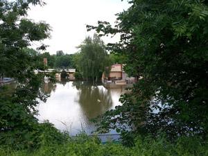 Hochwasser in Halle Saale (2013)