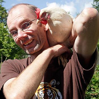 WWF-Landwirtschaftsexperte Markus Wolter. Image credit: © Arnold Morascher / WWF