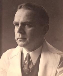 Dr. Gustaf Lindskog as a young surgeon at Yale. Image credit: Yale University