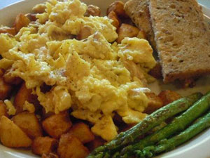 The study didn't define what breakfast food is or needs to be, but it's a good bet that asparagus would pass the test. Image credit: University of Minnesota
