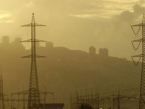 Smog. Photo by Marina Shemesh