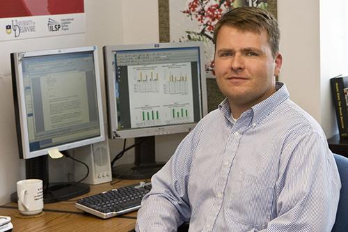 Tibor Tóth. Image credit: University of Delaware