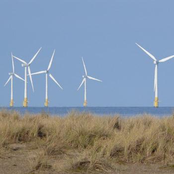 Windkraftanlagen. Image credit: © Hans-Ulrich Roesner / WWF