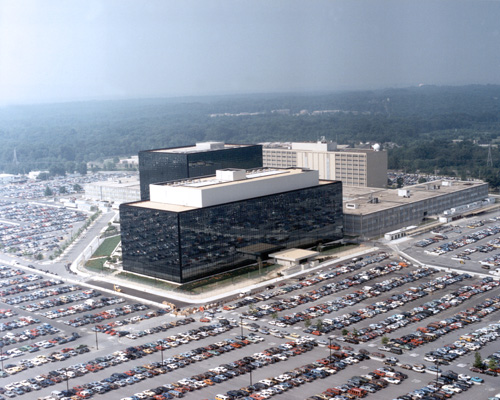 Hauptquartier der National Security Agency in Fort Meade, Maryland. Image credit: NSA