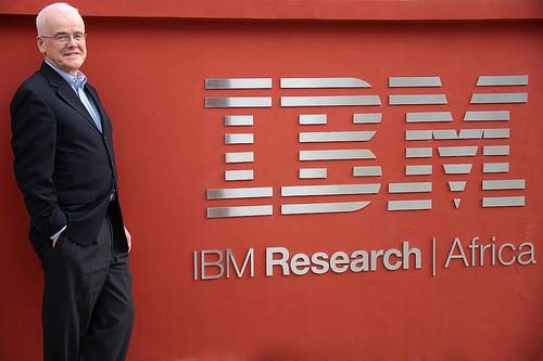 Robert Morris, Vice President, Global Labs, IBM Research. Image credit: IBM