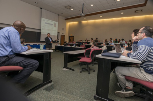 A conference at the University of Delaware brought industry and academic minds together for a discussion of the power and utility of big data. Photo by Kathy F. Atkinson