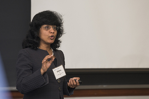 """Chitra Dorai: """"Digitization has given customers more clout and transformed their expectations."""" Photo by Kathy F. Atkinson"""