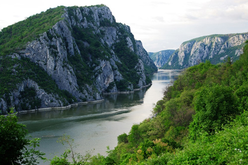 Danube River's Iron Gate Gorge. (Photo courtesy of Florin Filip, FAD Smart Technology SRL)