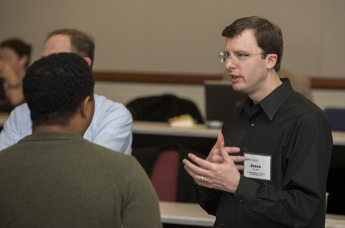 Jason Van Hulse: Big data is assisting in the decision-making process. Photo by Kathy F. Atkinson