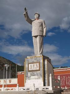 Mao Statue in Lijang. Photo credit: Roy Niekerk (Image source: Wikipedia)