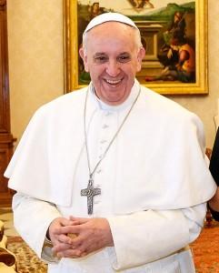 Neue Hoffnung für Millionen Gläubige in Lateinamerika: Papst Franziskus. Author: Presidência da Republica/Roberto Stuckert Filho (Image source: Wikipedia)