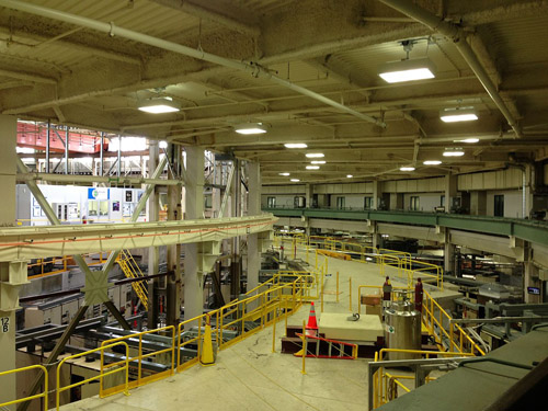 The U.S. Department of Energy's Advanced Light Source facility, where beamline staff assisted with data collection for the UW calcium ion channel structure project. Image credit: Shreyas Ptankar