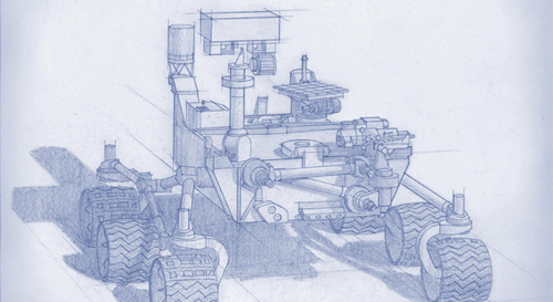Planning for NASA's 2020 Mars rover envisions a basic structure that capitalizes on the design and engineering work done for the NASA rover Curiosity, which landed on Mars in 2012, but with new science instruments selected through competition for accomplishing different science objectives. Image Credit: NASA/JPL-Caltech