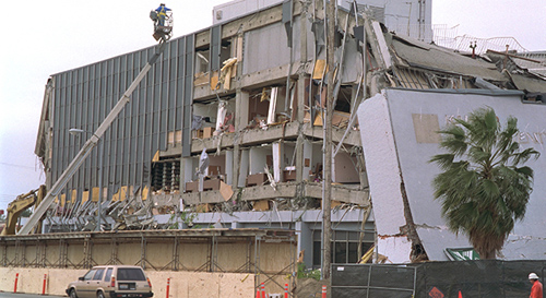 The magnitude 6.7 Northridge earthquake on Jan. 17, 1994, killed dozens, injured thousands and caused widespread damage throughout Greater Los Angeles. It was the costliest earthquake in U.S. history, and ranks as the fifth costliest disaster in U.S. history. Image credit: U.S. Geological Survey