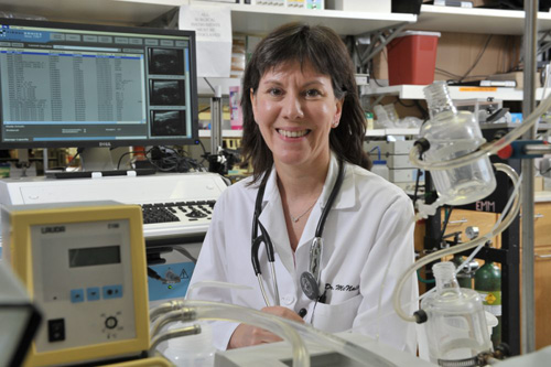 Elizabeth McNally, the A. J. Carlson Professor of Medicine and Human Genetics and director of the Cardiovascular Genetics Clinic, authored the recent study on genome analysis. Image courtesy of University of Chicago Medicine