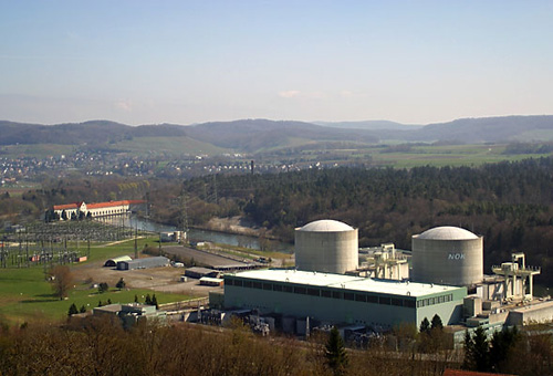 Kernkraftwerk Beznau. Image credit: Roland Zumbühl (Source: Wikipedia)