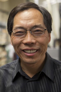 """Lai-Sheng Wang. """"We haven't made borophene yet, but this work suggests that this structure is more than just a calculation."""" Image credit: Brown University"""