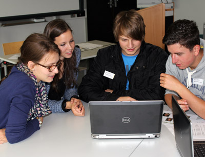 Nord- und Südtiroler Jugendliche entwickeln Zukunftsvisionen zum Nachhaltigkeitsziel Lebensqualität. (Foto credit: Lars Keller)